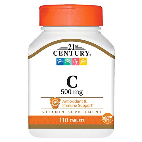 (21st Century C 500 Mg Tablets, 110 Count)