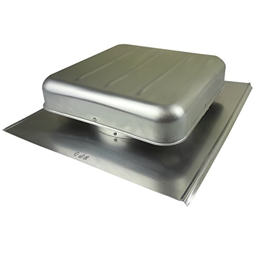 Roof Duct Aluminum Cap (445 Roof Mount Aluminum Exhaust Cap for 8' duct)