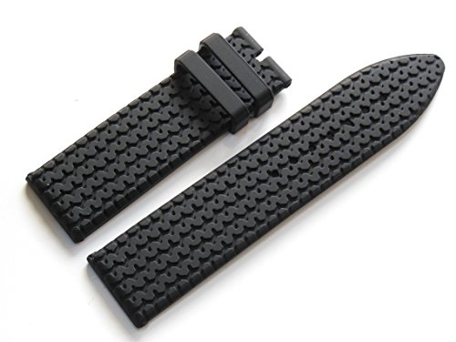 High Quality Rubber Watch Band Strap For 23mm Cho. Mille - Chopard Mille Miglia Watches