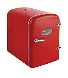 Curtis Mini Compact Refrigerator - Red