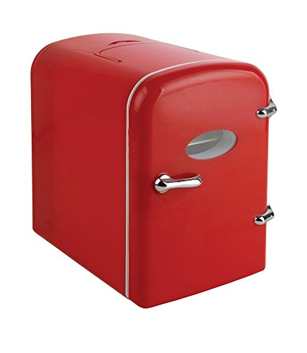Curtis Mini Compact Refrigerator - Red by Curtis