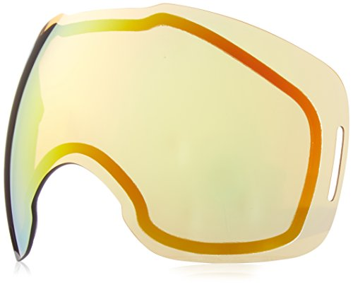 Oakley Men's Airbrake Snow Goggle Replacement Lens, Medium, Fire Iridium, - Goggles Oakley Ski Fire Iridium