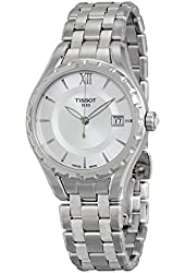 Tissot T-Lady Silver Dial Stainless Steel Ladies Watch T0722101103800