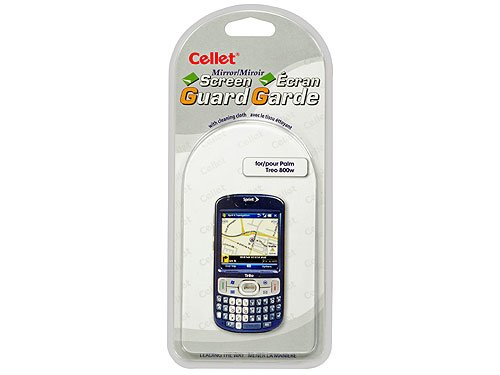 Cellet Super Strong Maximum Protection Screen Guard/Protector for Palm Treo - Screen 800w Treo