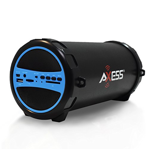 AXESS SPBT1031BL Portable Bluetooth