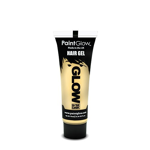 PaintGlow Neon Glow in the Dark Hair Gel Invisible 10ml