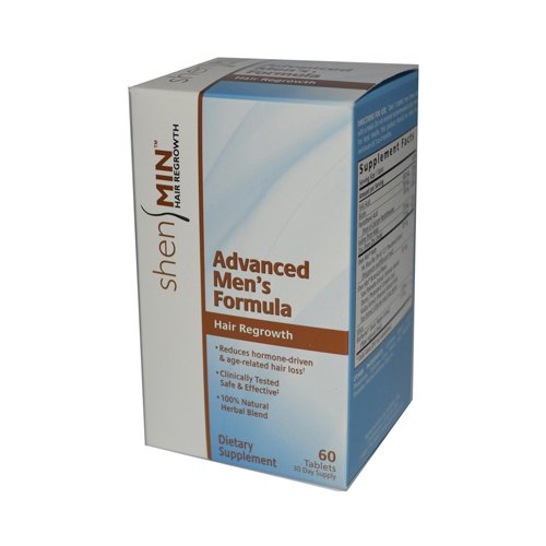Shen Min Hair Nutrient Advanced Men's Formula - 60 Tablets