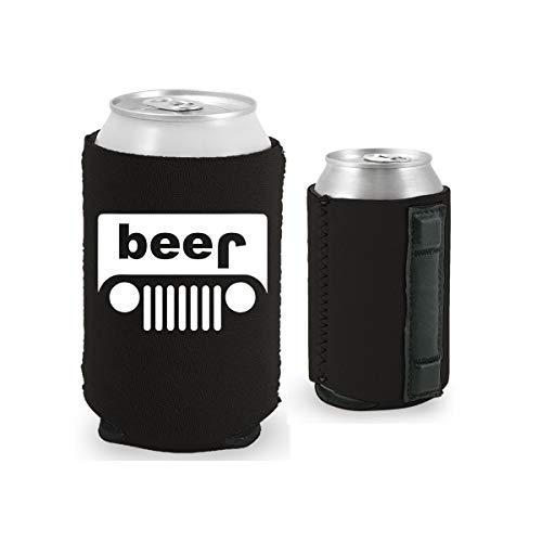 Magnetic Beer - Beer Truck Magnetic Can Coolie (1, Black)