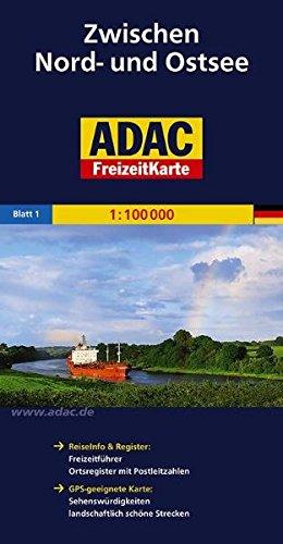 ADAC FreizeitKarte, Bl.1, Zwischen Nord- und Ostsee (ADAC Freizeitkarten)