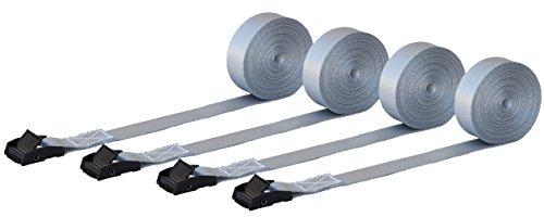 PREMIUM, carga correas de amarre 2,5cm Wide X 15'Long–550Lb Clasificación–Tie down accesorio Moving...
