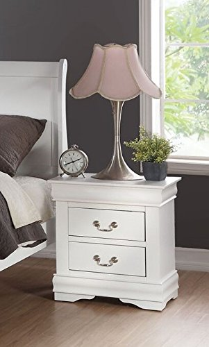 ACME Furniture Louis Philippe 23833 Nightstand, White, One Size