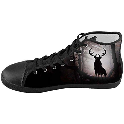 Dalliy kunst hirsch Women Low-top Canvas shoes Schuhe Footwear Sneakers shoes Schuhe E