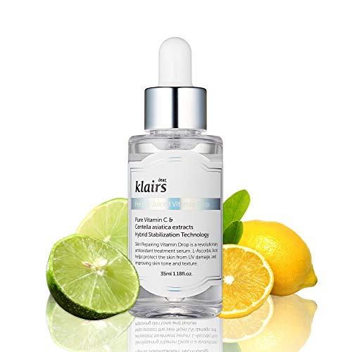 - [KLAIRS] Freshly Juiced Vitamin Drop, 5% pure vitamin C, vitamin C serum, 35ml, 1.18oz
