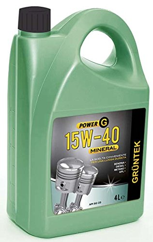 GRUNTEK 070.00000000008867 Aceite, 15 W40, Natural: Amazon.es: Coche ...