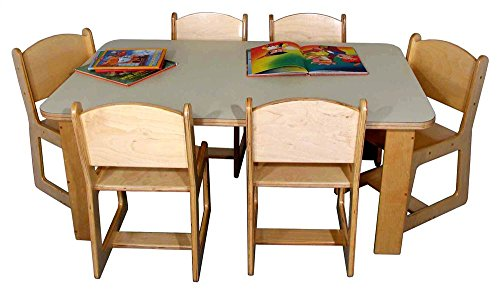 (Strictly for Kids Mainstream Preschool Rectangular Table (36 in. x 48)