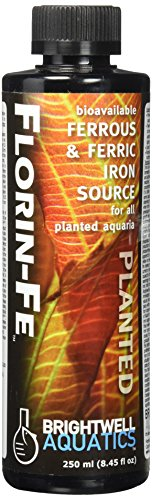 Brightwell Aquatics 8.5 fl. oz. Florin-Fe Ferrous and Ferric Iron for Planted FW Aquaria, 250 mL