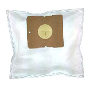 20 Fleece Vacuum Cleaner Bags, Filter Bags for Fagor VCE 165 bis 175