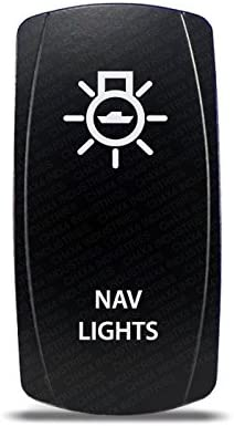 Amazon.com : CH4X4 Marine Rocker Switch Nav Lights Symbol 2- Amber on