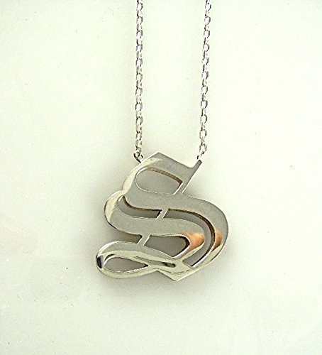 Amazoncom Old English Initial Alphabet S Letter Handcrafted