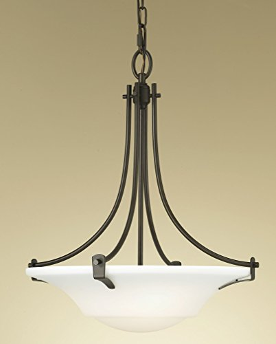Bronze Bowl Pendant Light in US - 4
