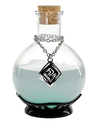 ThinkGeek LED Potion Desk Lamp – Color Changing LED Lamp – Perfect for Fans of RPGs and Chemistry