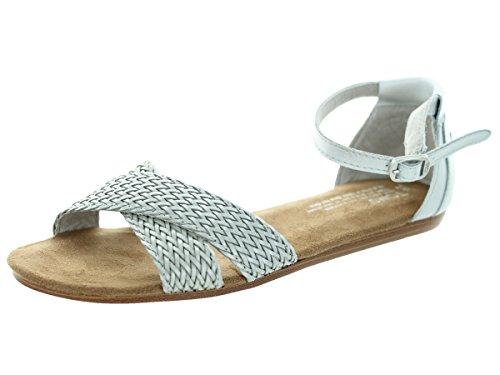Toms Women's Correa Sandal Silver Sandal 9.5 Women US