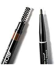 Arch By BDB Perfecty Arched Brow Pencil - Fill or Outline Your Eyebrows, Use The Spoolie for A Natural Finish, Cruelty free