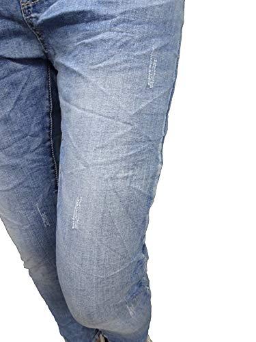 Abierta Boyfriend Cierre By Botones Colores Destroyed Más Lexxury Baggy De Karostar Stretch boyfriend jeans 4 Denim vqzCdnf0