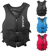 Creazrise Life Jacket for Adult Kids Survival Floating Life Vest Swimming Vest Float Life Jackets Buoyancy Aid