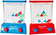Kicko Water Game - Triangle - Red and Blue, 2 Pack Color May Vary - for Kids of All Ages Kids, Teens, Adults, - Party Favor,
