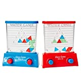 Kicko Water Game - Triangle - Red and Blue, 2 Pack Color May Vary - for Kids of All Ages Kids, Teens, Adults, - Party Favor, Hours of Fun, Filled with Liquid - Made with Plastic