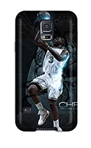 Best 6739694K62906908 New Snap-on AnnaSanders Skin Case Cover Compatible With Galaxy S5- Chris Paul