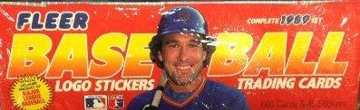 1989 Fleer Complete Set (MLB - Baseball - 672 Cards - Ken Griffey Jr.) (Factory Sealed)