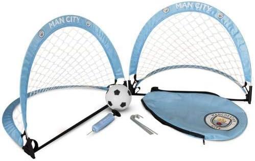 One Size Manchester City FC Skill Goal Set Sky Blue
