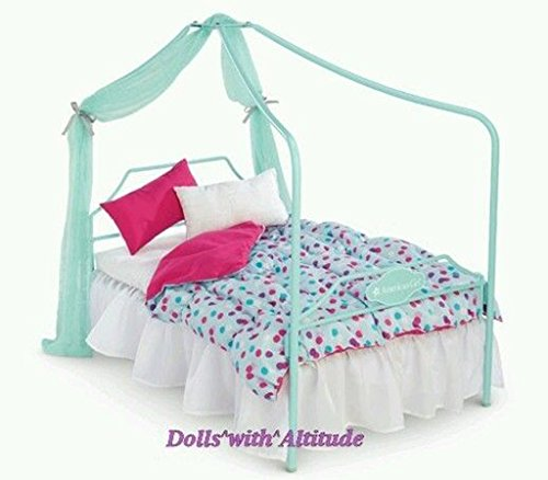 Amazon.com: American girl doll truly me canopy bed: Toys & Games