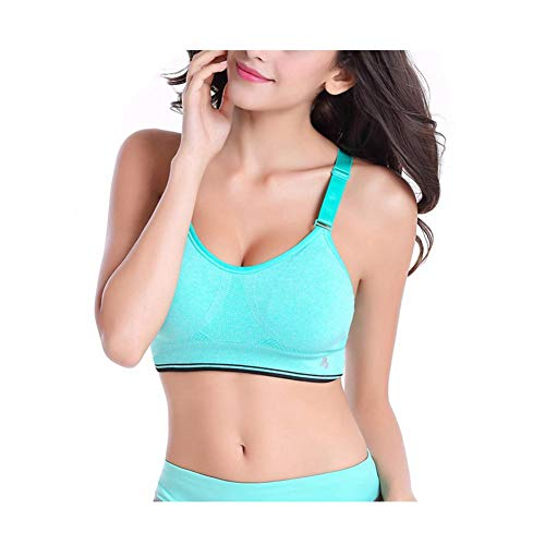 AOBRITON Women Sports Bra Professional Bra for Fitness Running Gym Shockproof Bra Push up Seamless Tops Adjustable Straps by AOBRITON