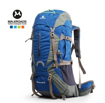 Amazon.com : Maleroads 50L 60L professional outdoor camping hiking backpack travel rucksack climb mountaineering bag pack mochila women&men : Sports & ...