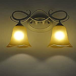 QHY Noth American Style Matel Wall Sconces 2 Light , 220-240V