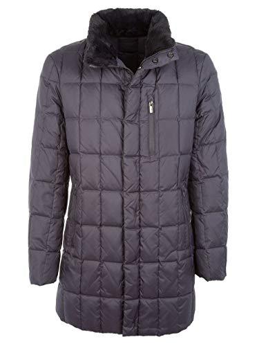 Armani Collezioni Men's Ucb28wucw22626 Grey Fabric Down Jacket