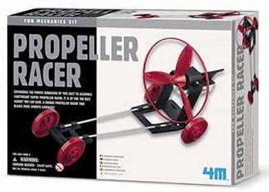 Great Gizmos Propeller Racer Kids Science School Project Fun Mechanics Kit Gift