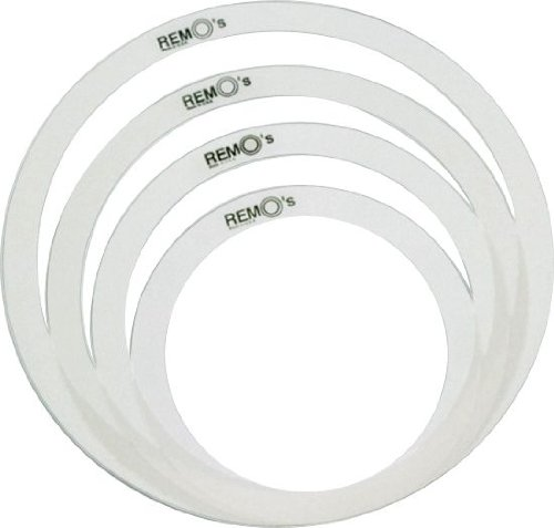 "Remo RemOs Tone Control Rings Pack - 10"", 12"", 14"", 16"""