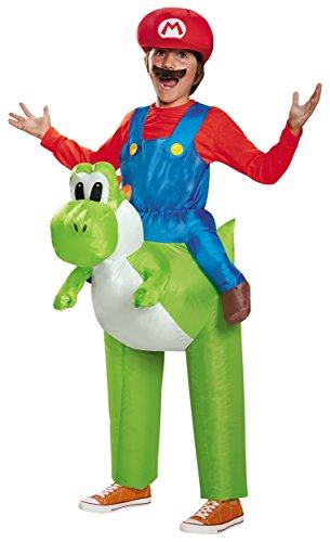 Mario Riding Yoshi Child Costume - One Size