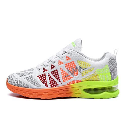 Glad You Came Women Running Shoes Men Sneakers Breathable Air Mesh Walking Shoes Athletic Sapatos Women Sports Runing Shoes,Gray Men Women,8.5 ()