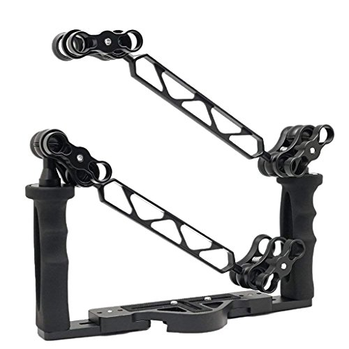 Homyl Camera Dive Universal Underwater Video Stabilizer Tray for any Housing with 1/4