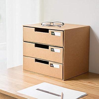 LOHOX Caja de Almacenamiento de la Oficina Revistero Archivador ...