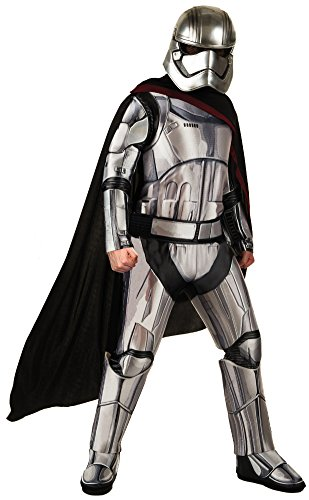 Star Wars: The Force Awakens Deluxe Adult Captain Phasma Costume, Multi, -