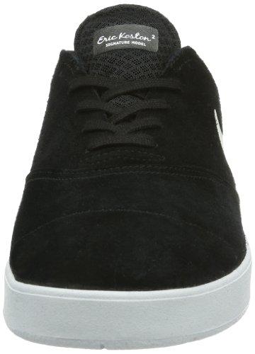 Nike Eric Koston 2, Sneaker Uomo Nero (Black/White)