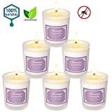 Best Citronella Candles - Aromama Pack of 6 Citronella Candles Indoor Review