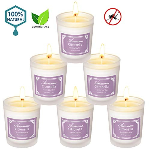 Aromama Citronella Candles Outdoor Scented product image