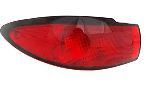 Evan-Fischer EVA15672024077 Tail Light for Ford Escort 98-03 LH Lens and Housing Zx2 Model Coupe Left Side Replaces Partslink# FO2800161